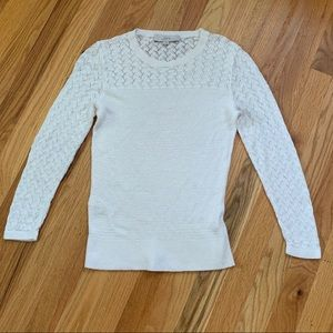 LOFT Cream Sweater Size Small NWOT!!